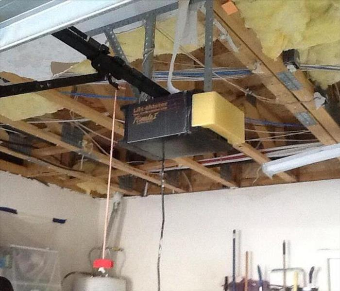 Ceiling Falls Down Thanks To Storm After