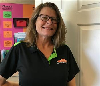 Dawn Kyles at Servpro Henderson Boulder City offices