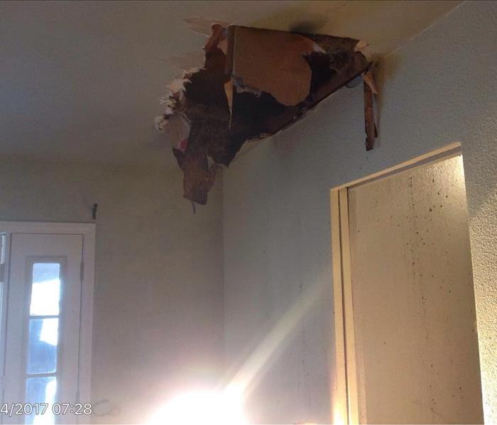 Electrical Fire In Ceiling