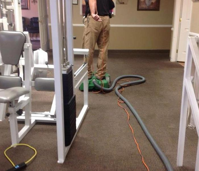 Commercial Office In Henderson Suffered Flood Damage