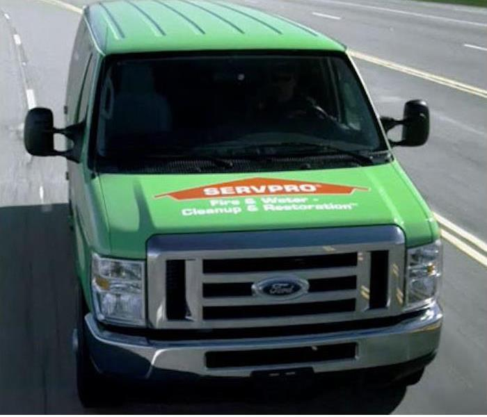 SERVPRO Van Ready to go