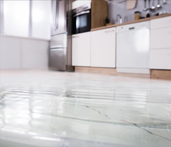 Kitchen Flooding