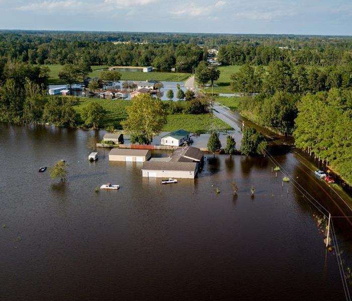 Storm Surge can cause severe flood damage