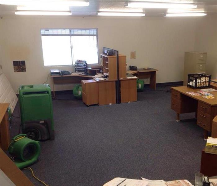Commercial Local Henderson Office Suffers Water Damage