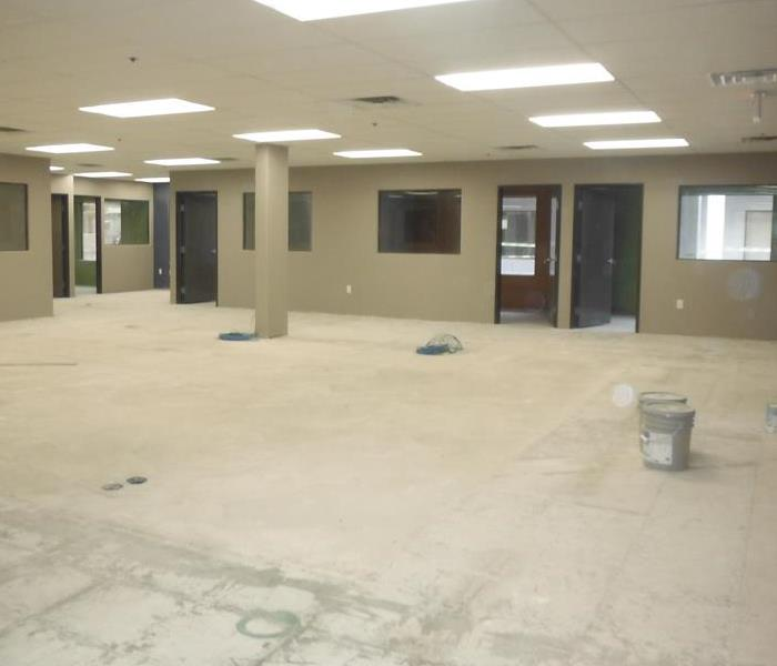 Water Damage Commercial Building