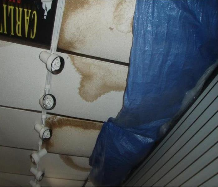 Commercial Water Damage At Local Commercial Building