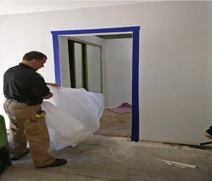 Mold Remediation Making Containments On Mold Jobs Is An Important Part Of The Process